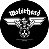 Motorhead- Hammered Sewn Edge Back Patch (bp113)