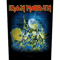 Iron Maiden- Live After Death Sewn Edge Back Patch (bp2)