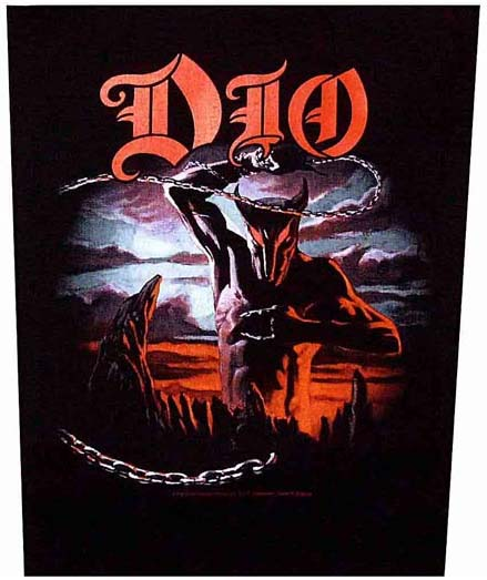 Dio- Holy Diver Sewn Edge Back Patch (bp33)