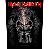 Iron Maiden- Eddie Candle Finger Sewn Edge Back Patch (bp128)
