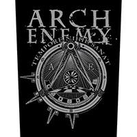 Arch Enemy- Tempore Nihil Sanat Sewn Edge Back Patch (bp131)