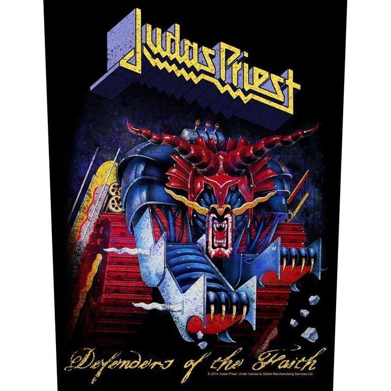 Judas Priest- Defenders Of The Faith Sewn Edge Back Patch (bp55)