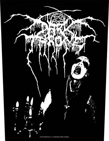 Darkthrone- Transilvanian Hunger Sewn Edge Back Patch (bp36)