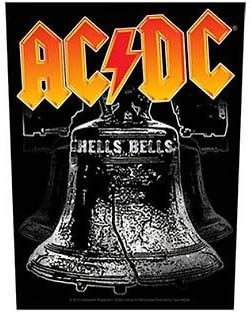 AC/DC- Hells Bells Sewn Edge Back Patch (bp38)