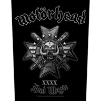Motorhead- Bad Magic Sewn Edge Back Patch (bp118)
