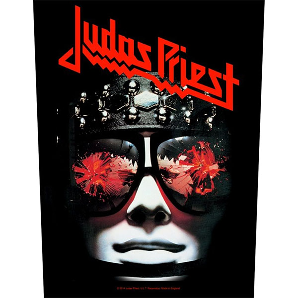 Judas Priest- Hell Bent For Leather Sewn Edge Back Patch (bp66)