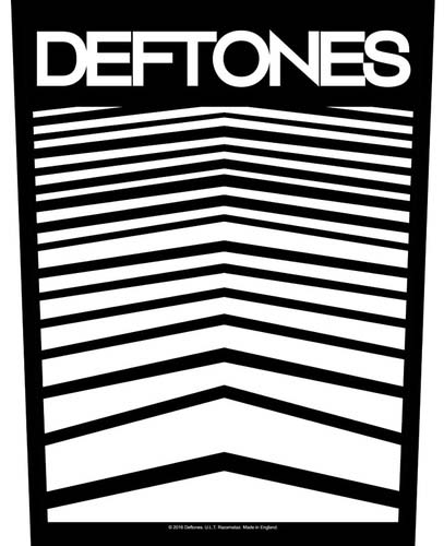 Deftones- Logo Sewn Edge Back Patch (bp43)
