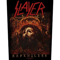 Slayer- Repentless Sewn Edge Back Patch (bp106)