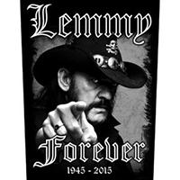 Lemmy (Motorhead)- Forever (1945-2015) Sewn Edge Back Patch (bp108)