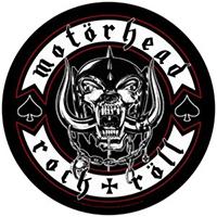 Motorhead- Rock & Roll Sewn Edge Back Patch (bp112)
