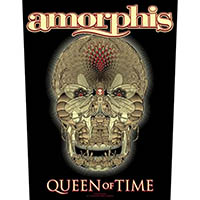 Amorphis- Queen Of Time Sewn Edge Back Patch (bp103)