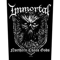Immortal- Northern Chaos Gods Sewn Edge Back Patch (bp138)