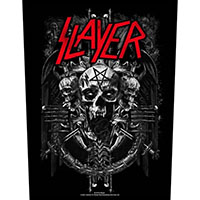 Slayer- Demonic Sewn Edge Back Patch (bp206)