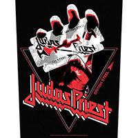 Judas Priest- Vintage British Steel Sewn Edge Back Patch (bp205)