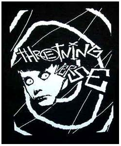 Thretning Verse- Face back patch (bp335) (Sale price!)
