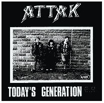 Attak- Today's Generation back patch (bp362)