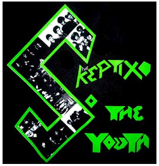 Skeptix- So The Youth back patch (bp451) (Sale price!)