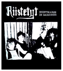 Riistetyt- Nightmares In Darkness back patch (bp453)