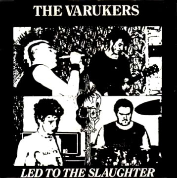 Varukers- Led To The Slaughter back patch (bp488)