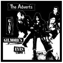 Adverts- Gary Gilmores Eyes back patch (bp555)