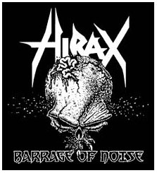 Hirax- Barrage Of Noise back patch (bp587)