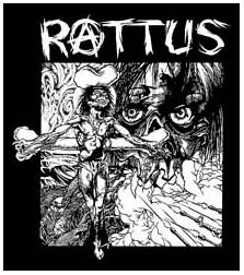 Rattus- Pushead Artwork back patch (bp616)