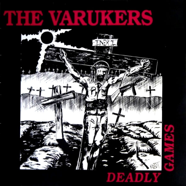 Varukers- Deadly Games back patch (bp623)