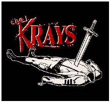 Krays- Sword Guy back patch (bp642) (Sale price!)