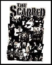 Scarred- Paranoia back patch (bp663) (Sale price!)
