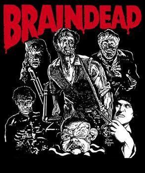 Braindead- Zombies back patch (bp472)
