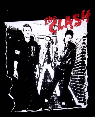 Clash- First Album Cover back patch (bp68)