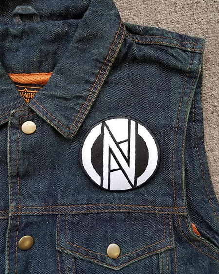 Conflict- Symbol embroidered patch