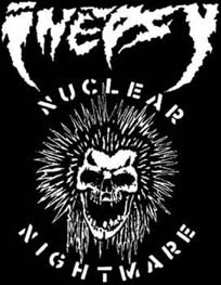 Inepsy- Nuclear Nightmare cloth patch (cp115)