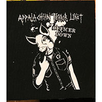 Appalachian Terror Unit- Officer Down cloth patch (cp302)