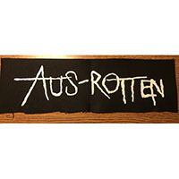 Aus Rotten- Logo cloth patch (cp304)