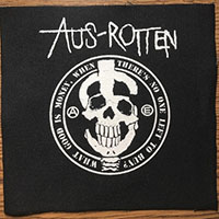 Aus Rotten- What Good Is Money cloth patch (cp306)