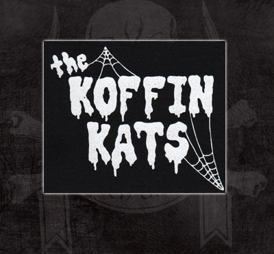 Koffin Kats- Logo cloth patch (cp923)