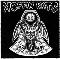 Koffin Kats- Goat Bat cloth patch (cp924)