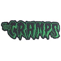 Cramps- Logo Embroidered Patch