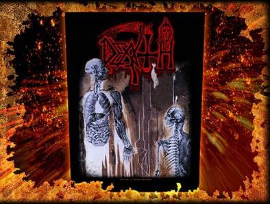 Death- Human Sewn Edge Back Patch (bp29)