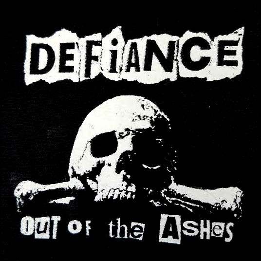 Defiance- Out Of The Ashes cloth patch (cp137)