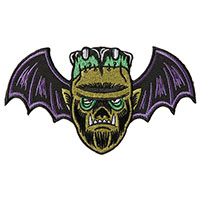 Monster Mash Embroidered Patch by Sourpuss & Dumb Junk (ep932)