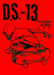 Ds13 thrash and burn back patch bp354 for Thrash and burn shirt