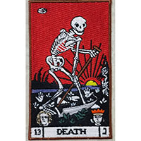 Death Tarot Embroidered Patch