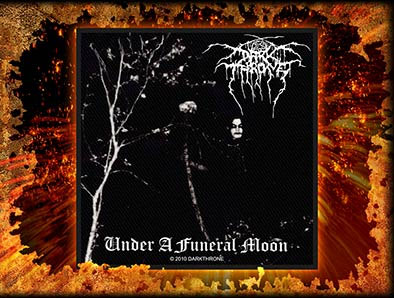 Darkthrone- Under A Funeral Moon Woven Patch (ep513)