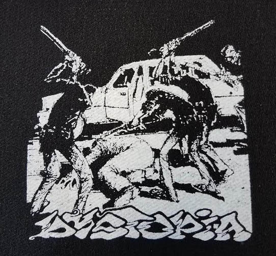 Dystopia- Cop Beatdown cloth patch (cp143)