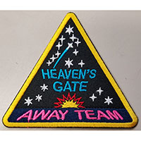 Heaven's Gate Away Team Embroidered Patch by Graveface (ep27)