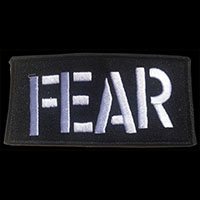 Fear- Logo embroidered patch (ep594)