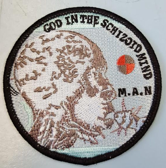 GISM- God In The Schizoid Mind embroidered patch (EP693)