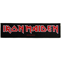 Iron Maiden- Logo Woven Superstrip Patch (ep201) (Import)